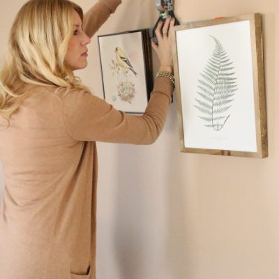 Hate Hanging Pictures?  Tired of the Multiple Holes?  I have Your Solution!