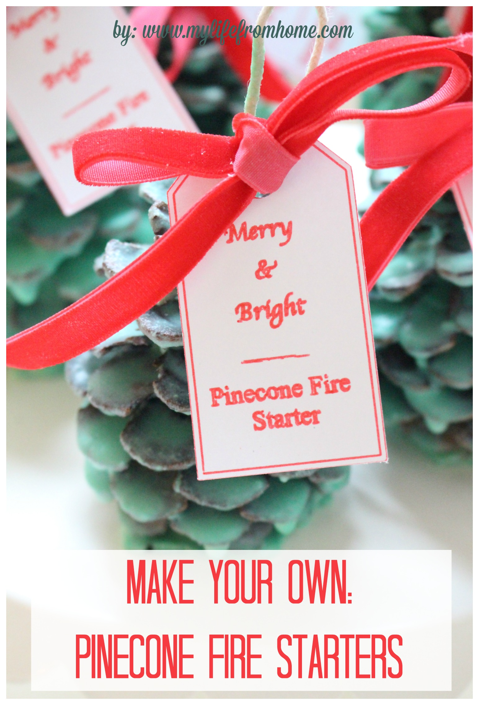 make-your-own-pinecone-fire-starters-diy-fire-starters-pinecones-crafts-with-pinecones-christmas-gifts-merry-bright-fire-starter-candle-wax-projects