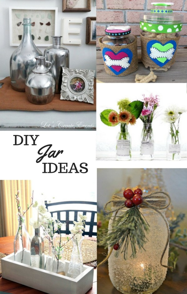 DIY jar ideas, DagmarBleasdale.com