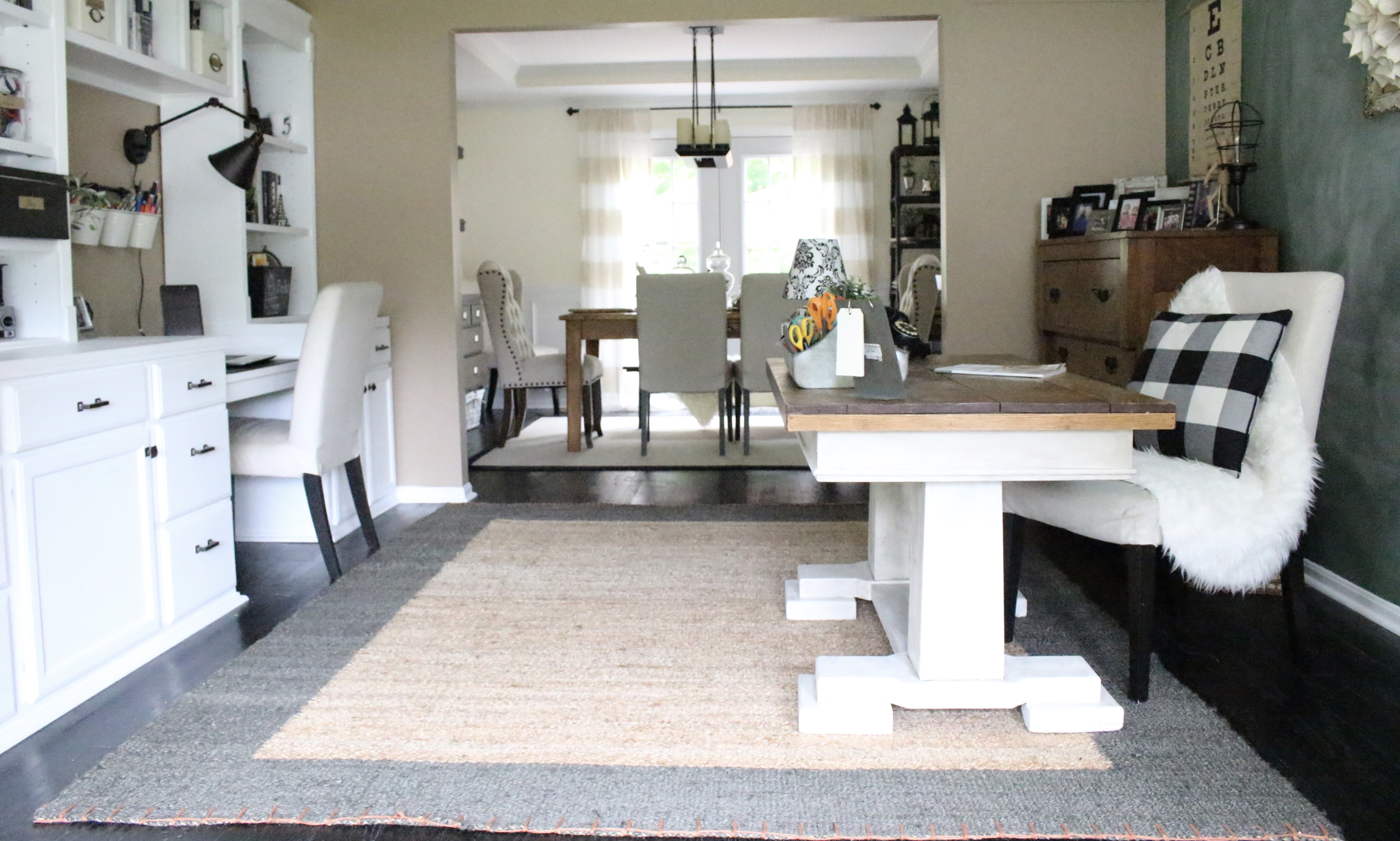 One Room Living Space one room challenge {orc} week #6: reveal of a functional & stylish