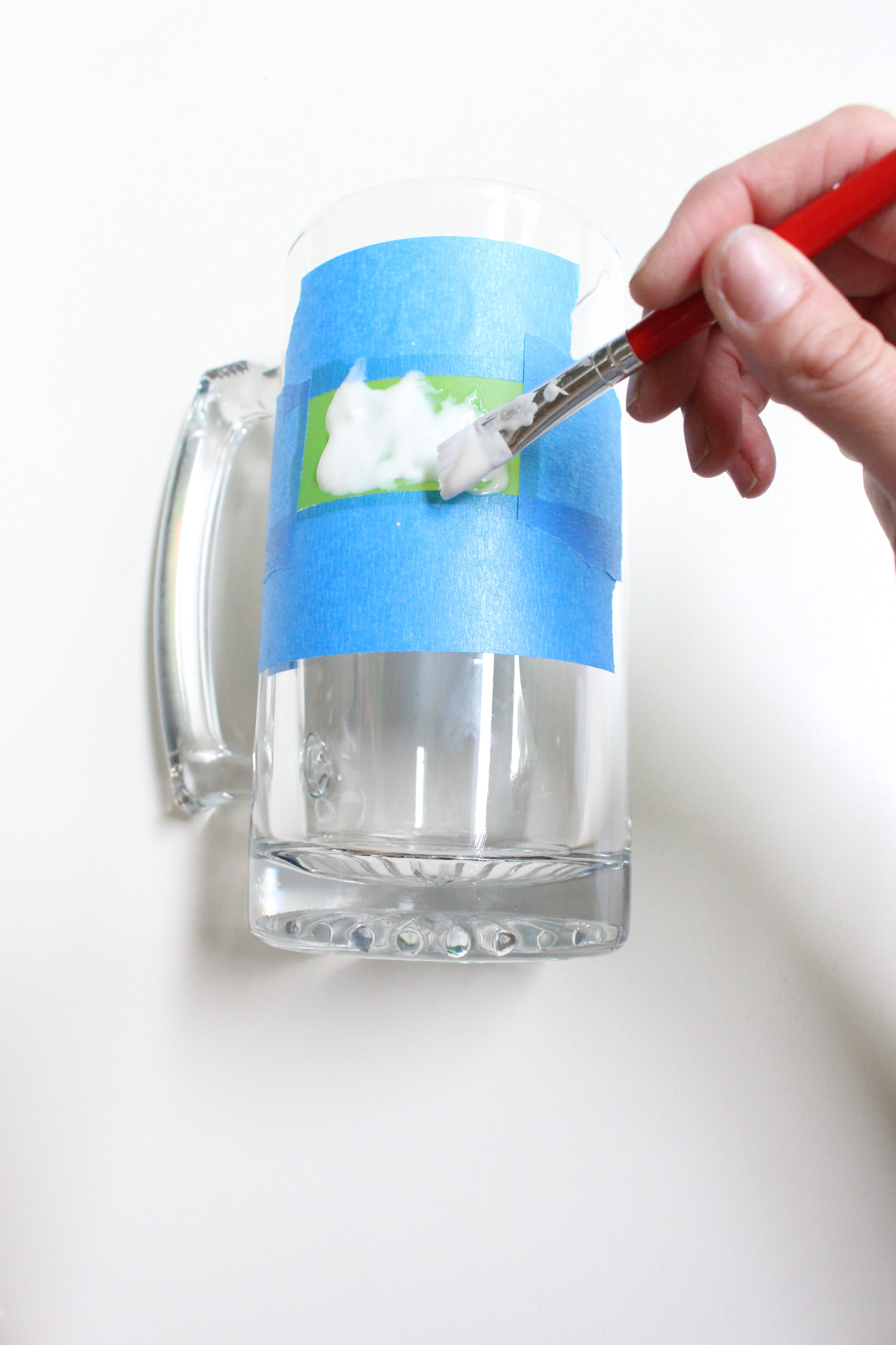 DIY Etched Beer Mugs- summer- Create with Me Challenge- etching glass- DIY- father's day- gifts for men- wedding gifts- handmade gifts- etched mugs- glass etching- bachelor party gifts- stenciling