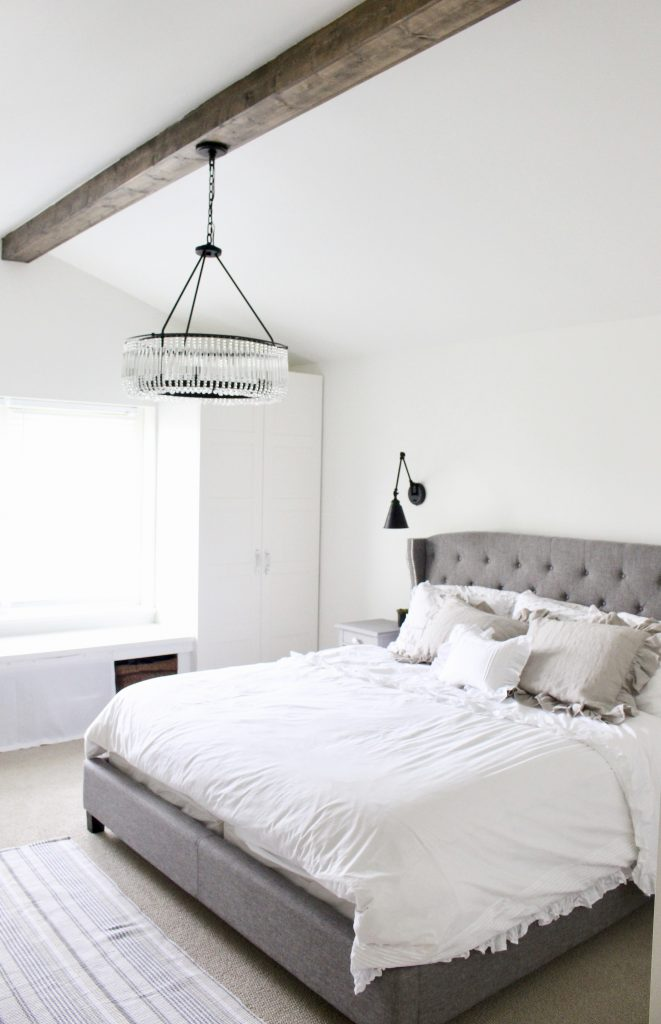 Farmhouse Master Bedroom Reveal   My Life From Home on Master Bedroom Farmhouse Bedroom Images  id=40976