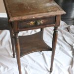 Using Chalk Paint To Update A Nightstand White Cottage Home Living