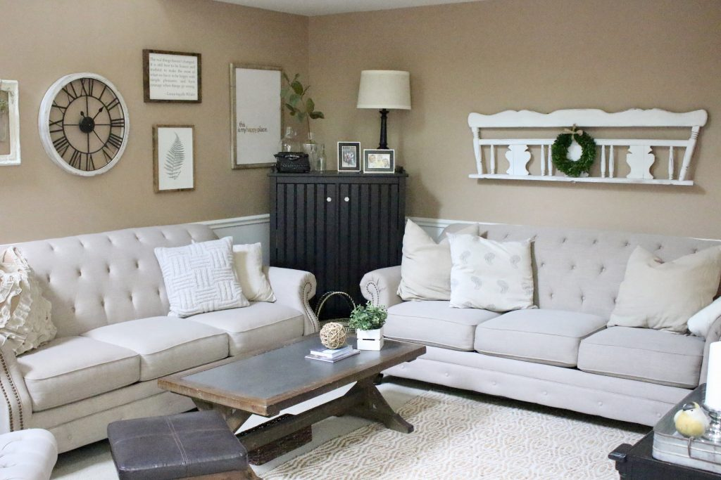 Family Room Living Home Tour Design
