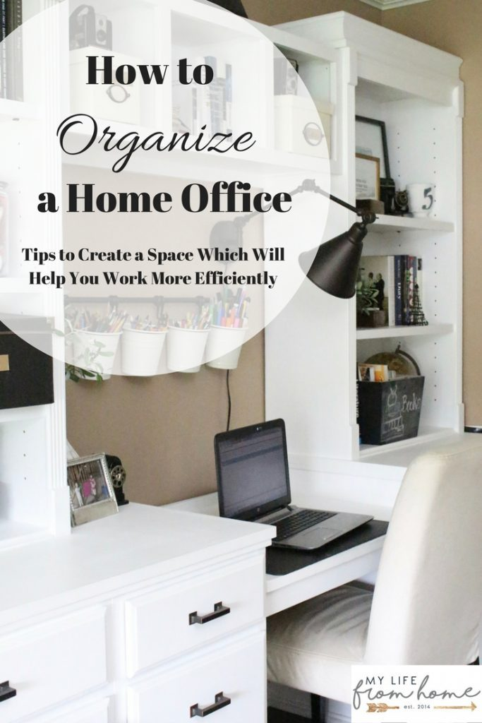 Home office- craft room- reveal- home office space- craft supply storage ideas- One Room Challenge- renovation- home tour- office makeover- One Room Challenge Reveal Week 6- farmhouse style office- neutral decor- built in shelving- styling shelves.jpg