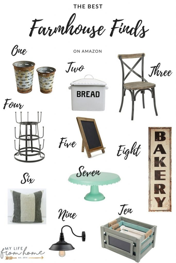 Farmhouse Finds on Amazon- farmhouse decor- Amazon- farmhouse finds- decor- home decor- best place to find farmhouse decor
