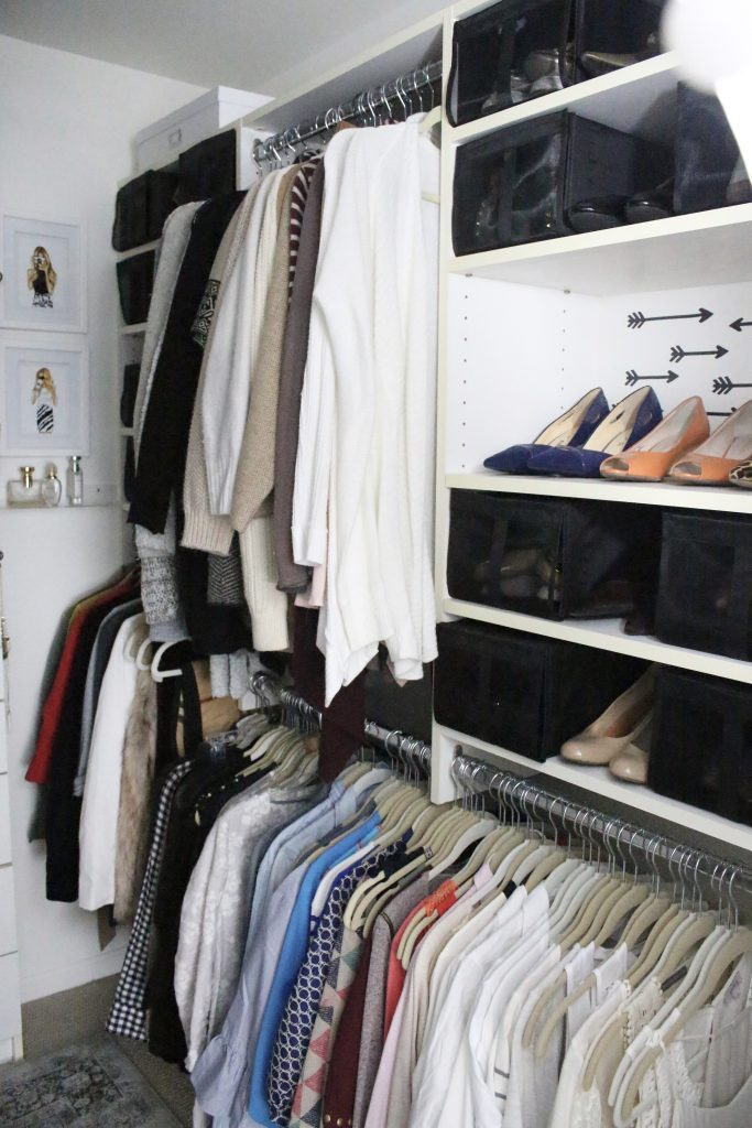 A full boutique closet reveal- master closet- closets- organizing closets- do it yourself- DIY- DIY projects- decoration ideas- room decor ideas- room design- home decor- closet decor- boutique- closet organization- shelf organization