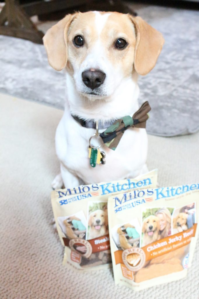 Meijer Stores- Milo's home-style dog treats- Irving- dog- food- chicken- beef- dog food