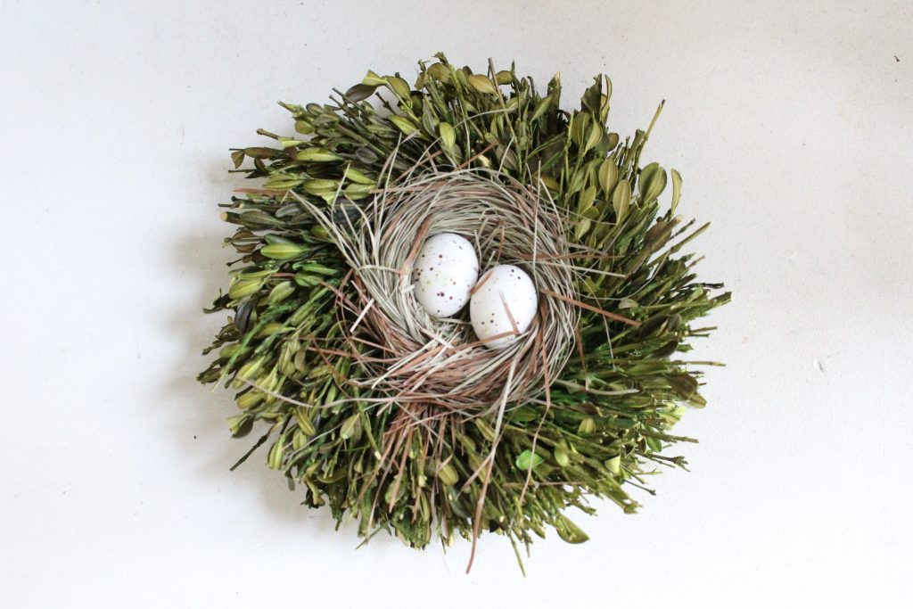 spring decor- spring decorating- home decor ideas for spring- Kirkland's Flower Market- DIY flower arrangements- DIY projects- decoration ideas- room decor ideas- crafts- craft ideas- birds nest