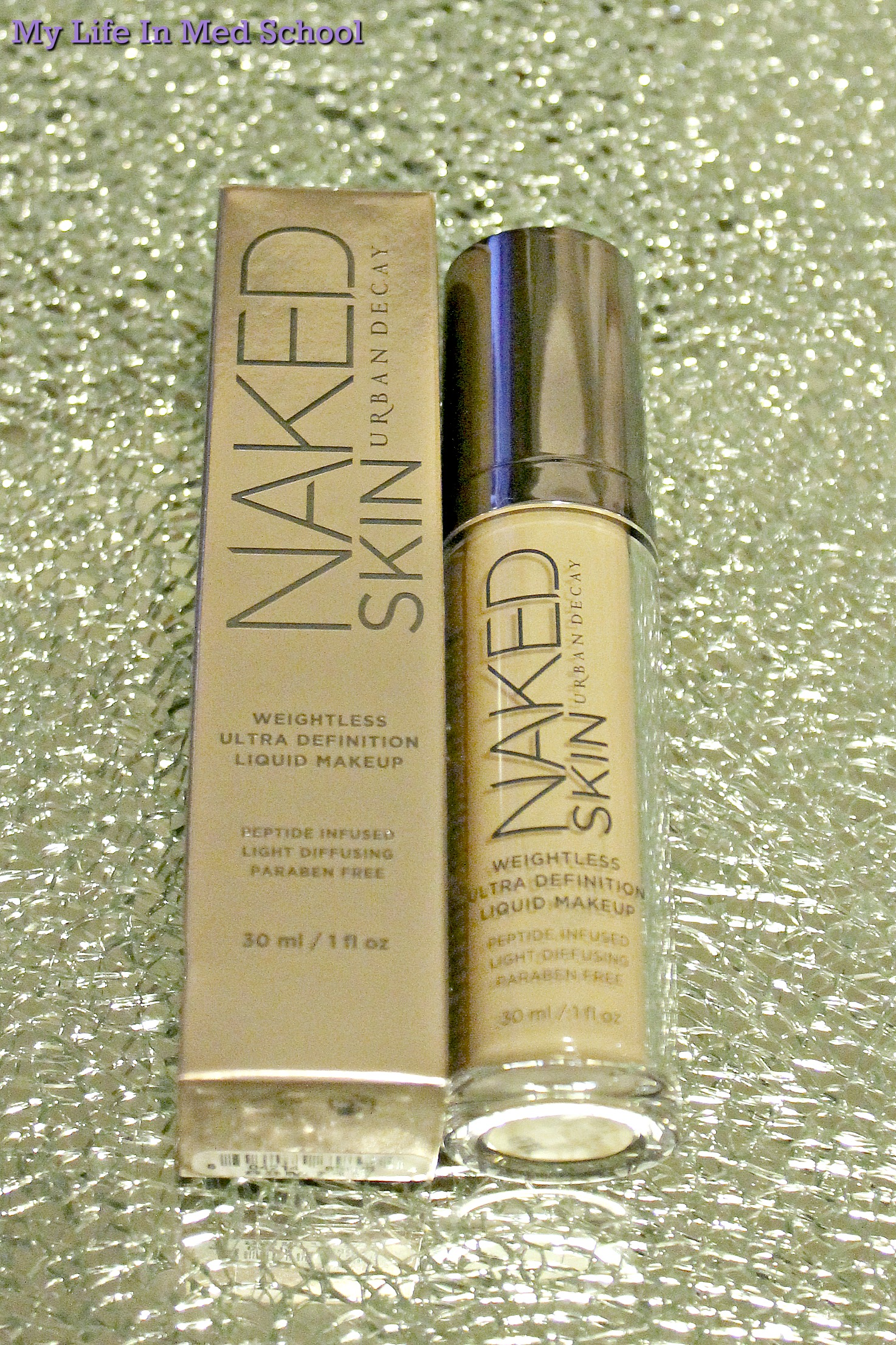 Urban Decay Naked Skin Foundation 1.0