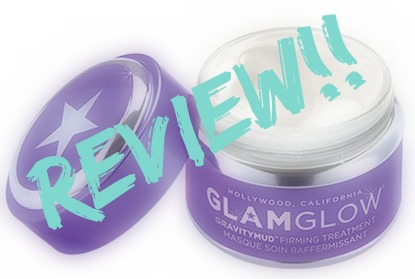 GlamGlow Gravity Mud Firming treatment:
