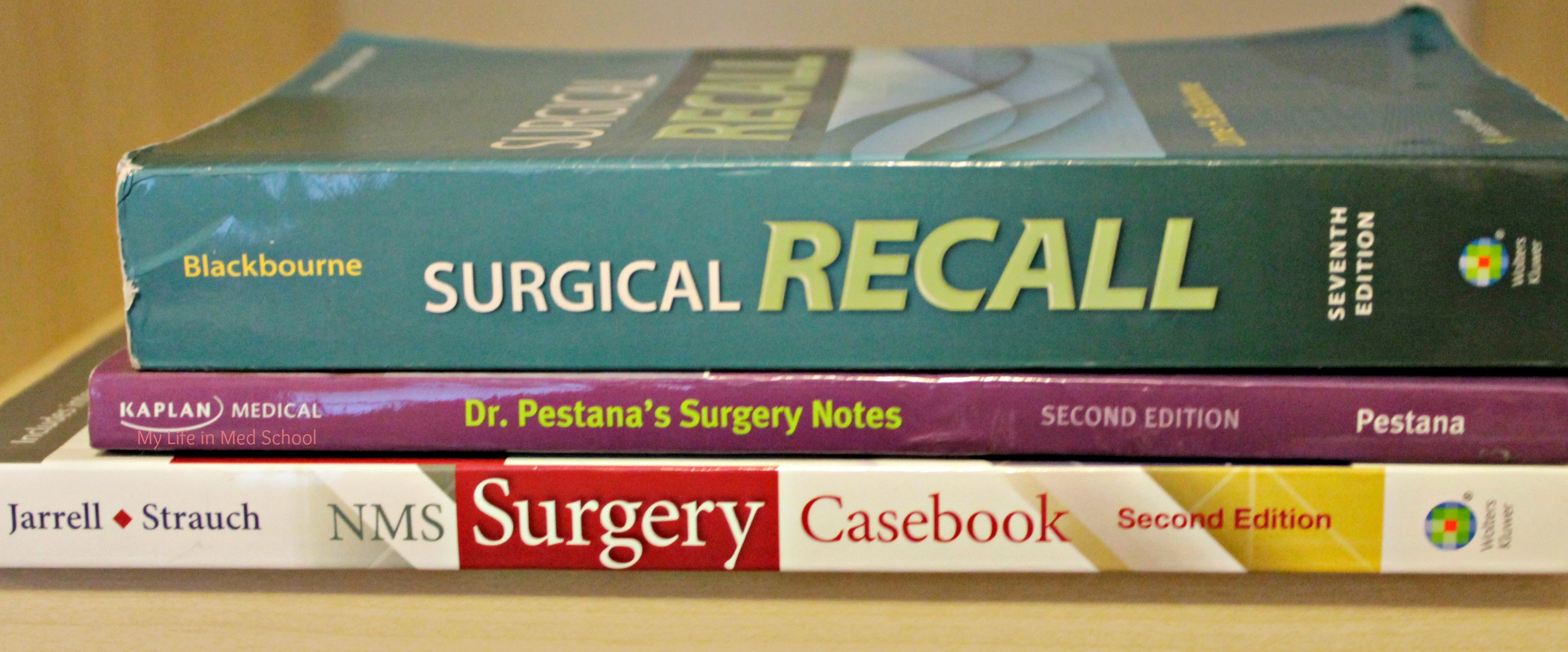 Surgery Rotation Books