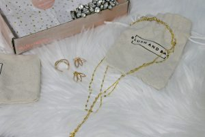 Blusg and Bar Lindley necklace