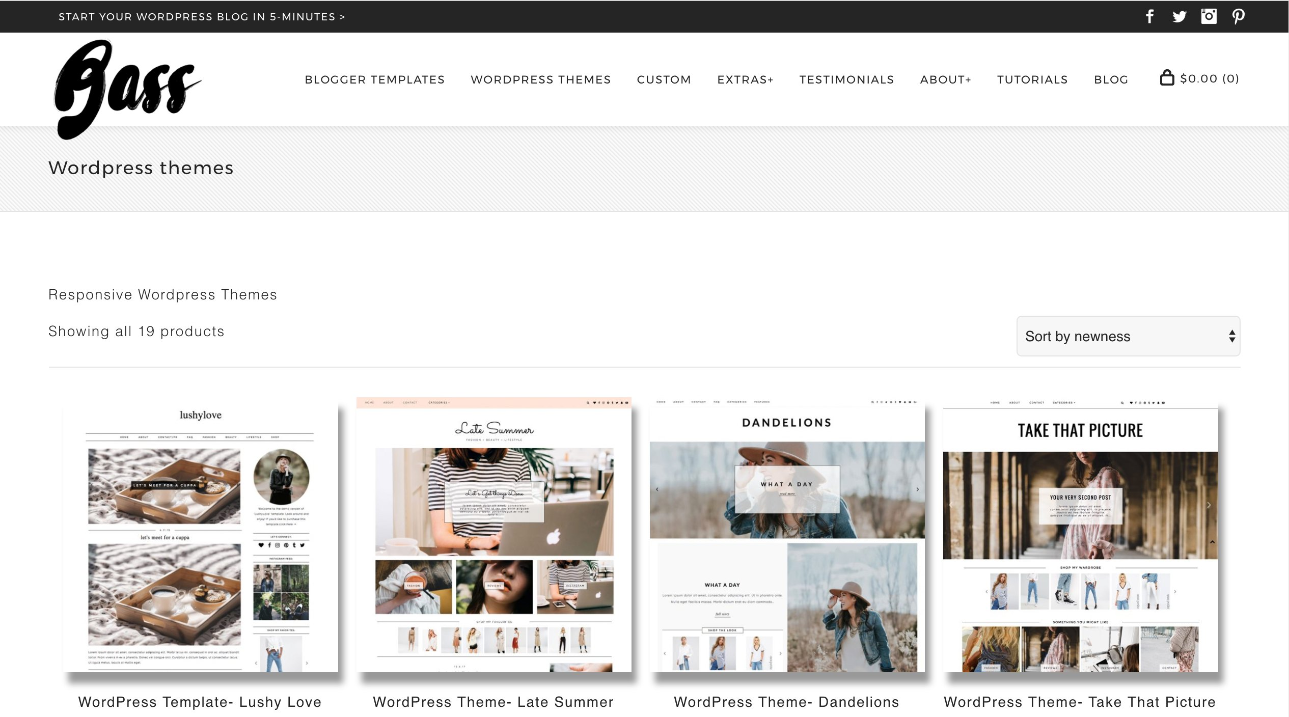 Kotryna Bass WordPress Themes