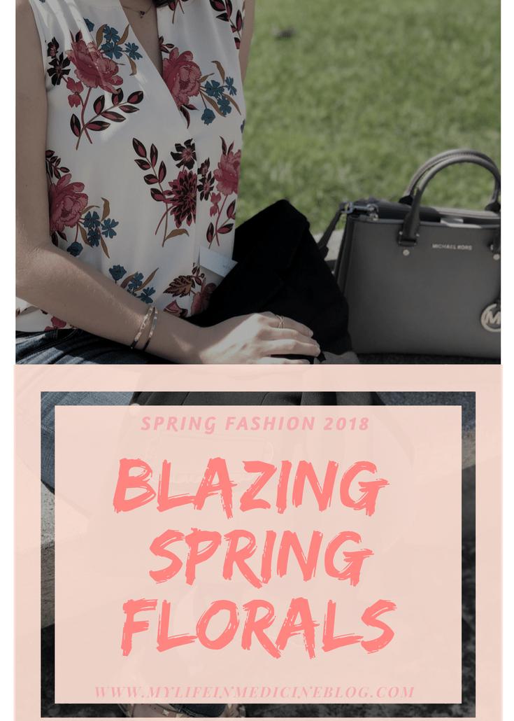 Spring Florals Blazer