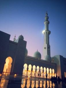 Grand Mosque, Abu Dhabi, November 2012