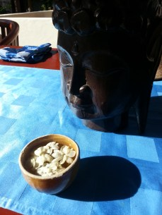 Breakfast and Buddha, Bali May 2013
