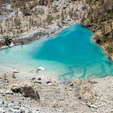 lago blu val d'ayas