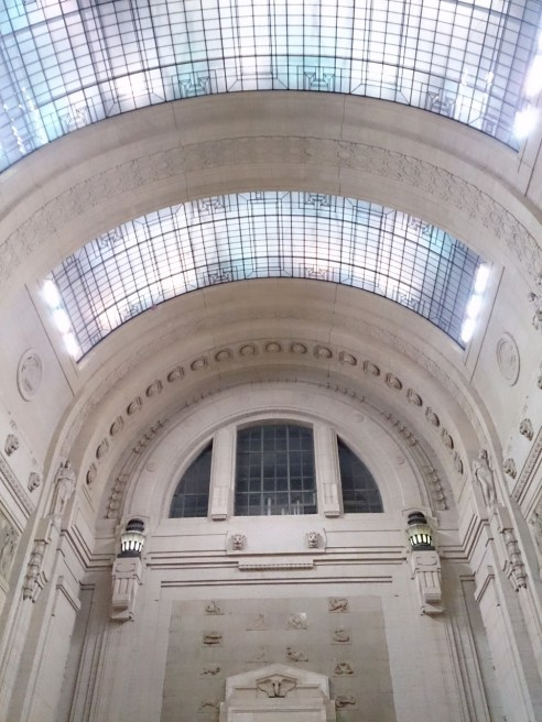 Milan Centrale- The Central train station in Milan