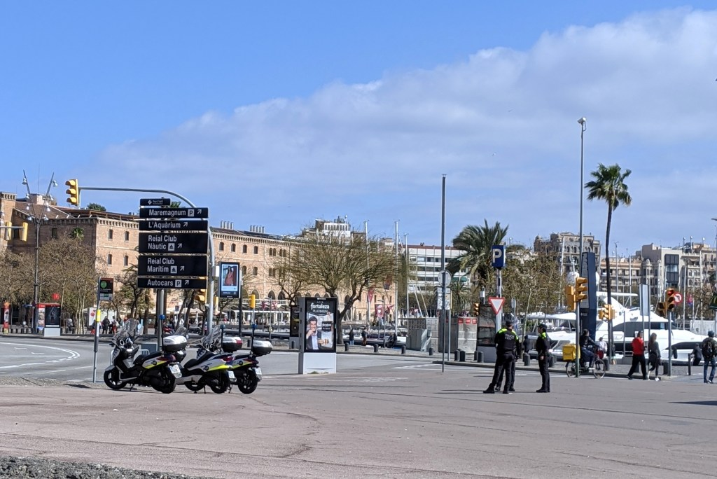 barcelona polica