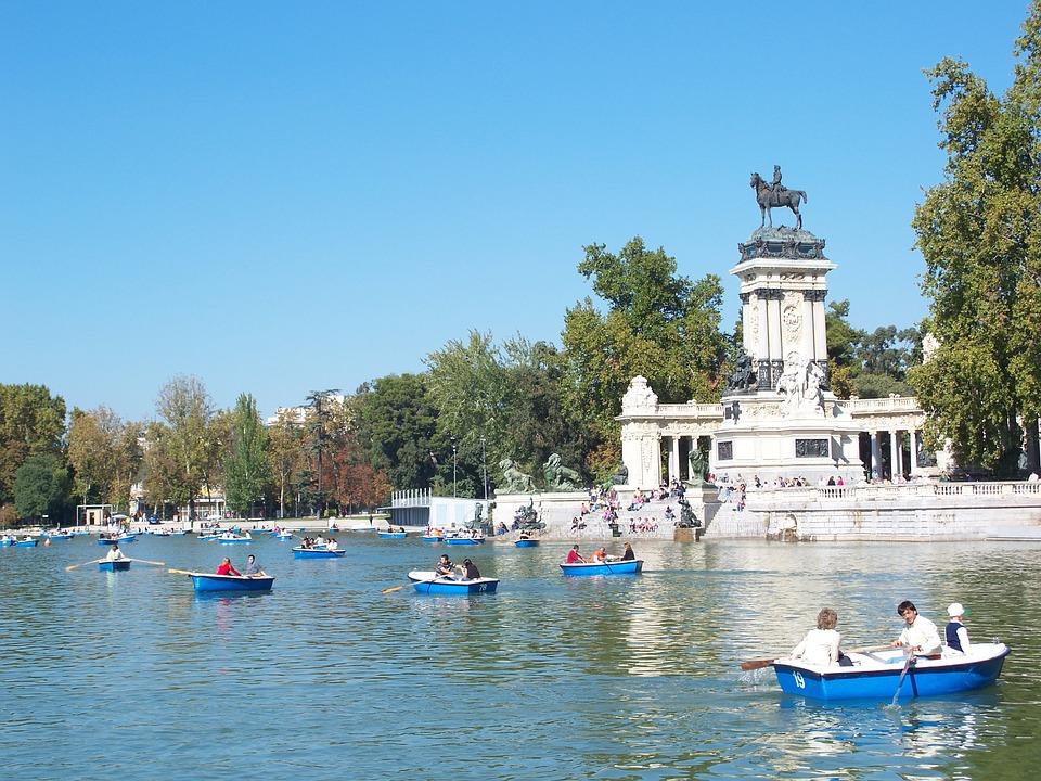 Retiro Park melhores spots de fotos em Madri