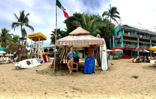 escola de surf sayulita