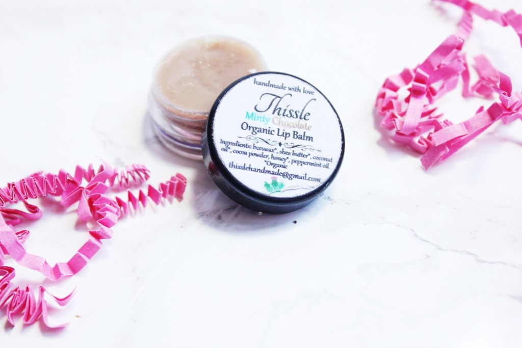 lip balm Thissle Handmade WITH Love Review