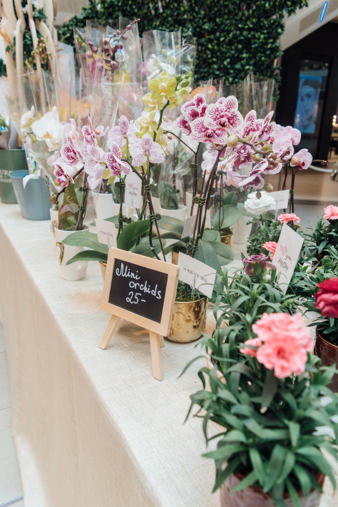 Mother's Day Flower Market at STC