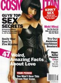 Nicki Minaj Covers Cosmopolitan Magazine