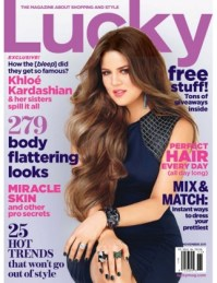 Kardashian Sisters Cover Lucky Magazine
