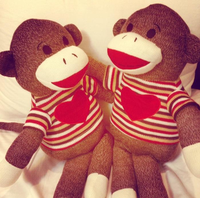 Valentine's Day Bears Hugging