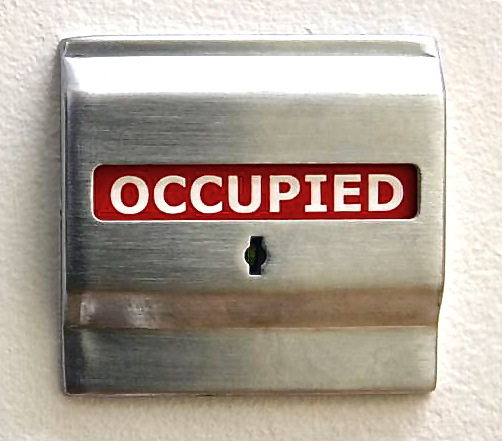 occupied-sign