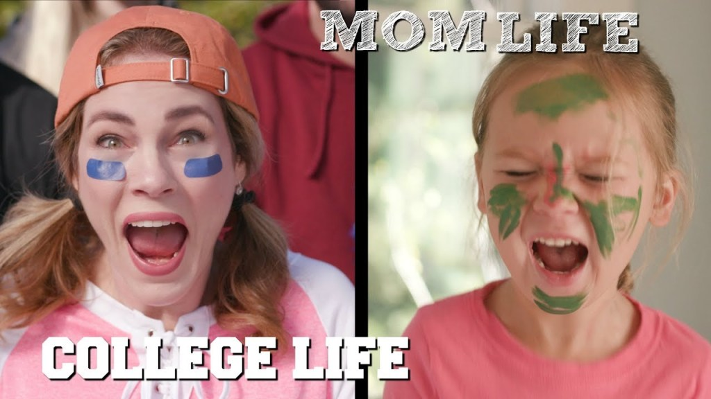 How Mom Life is Like College Life