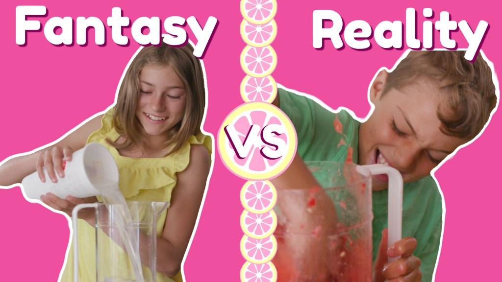 Lemonade Stand: Fantasy vs. Reality