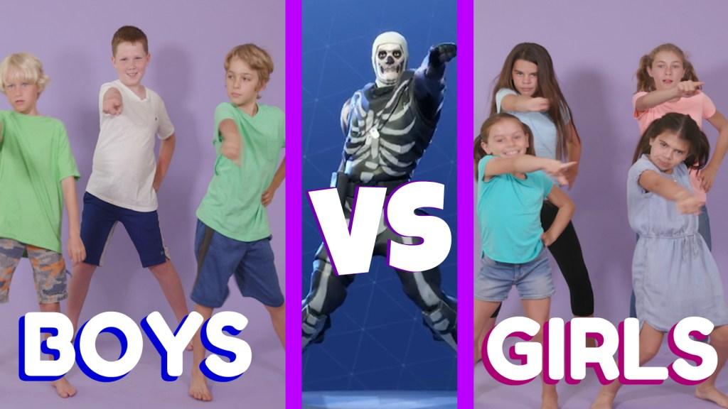 Fortnite Dance Challenge #2   BOYS VS. GIRLS
