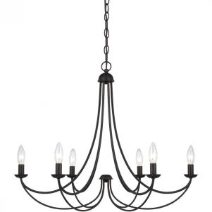 Quoizel Mirren 6 Light Chandelier