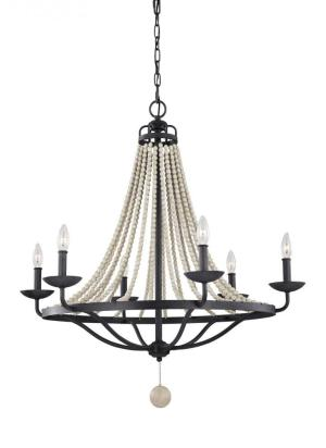 Feiss lighting Nori 6 light chandelier