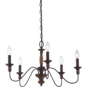 Quoizel Lighting HK5005TC 5 light Chandelier