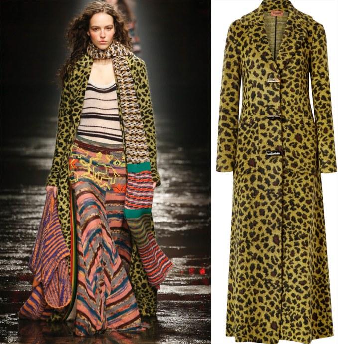 Knitted coat - Missoni
