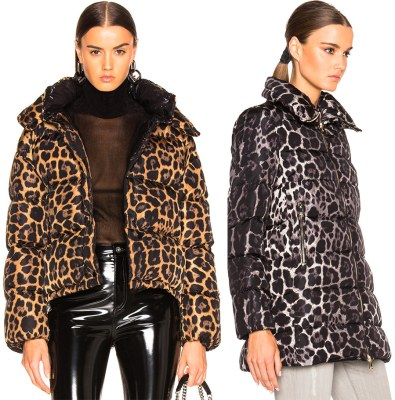 Leopard down jacket 2019