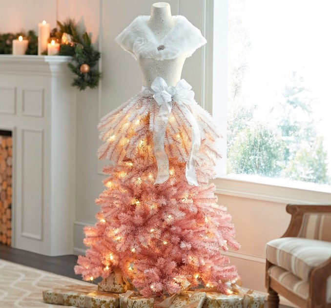How to make a Christmas tree in the style of Fashion with their own hands