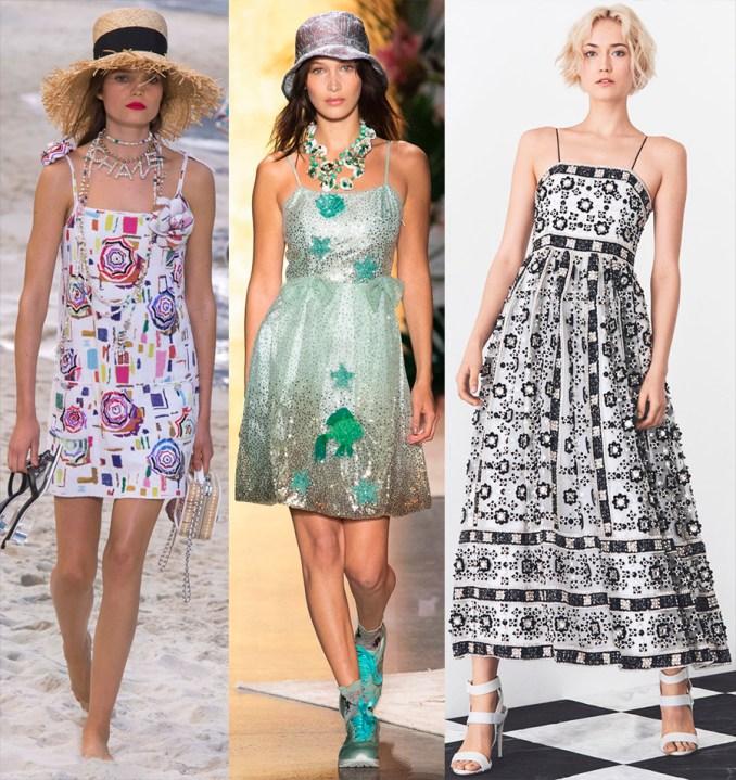 Beautiful summer sundresses