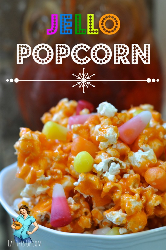 Jello Colored Popcorn Recipe