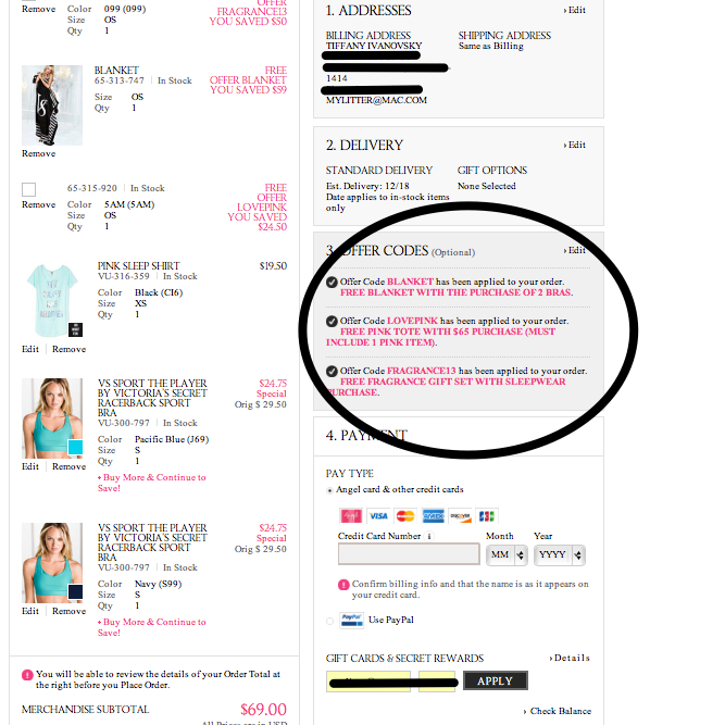 Cash In Those Victoria Secret Rewards Cards MyLitter