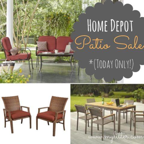 home depot patio furniture sale 50