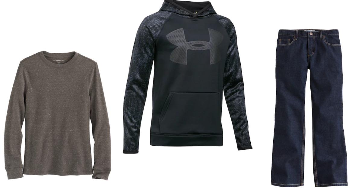 Kohls Black Friday Boys Clothing Deals Under Armour