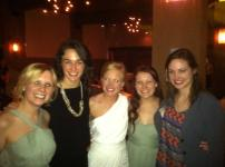 was reunited with my original best friends, the Walston girls as we watched Holly get married!!