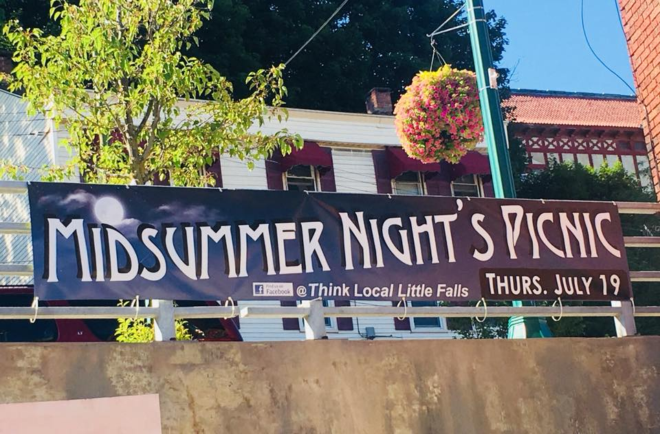 Join Little Falls for 'A Midsummer Night's Picnic' in Canal Place