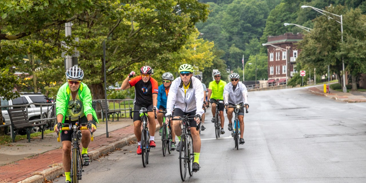 Cross Country Cyclists Overnight in Little Falls during 3,700 Mile Bike Ride of a Lifetime