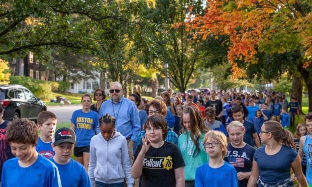 Just like it used to be – the kids experience walking to school